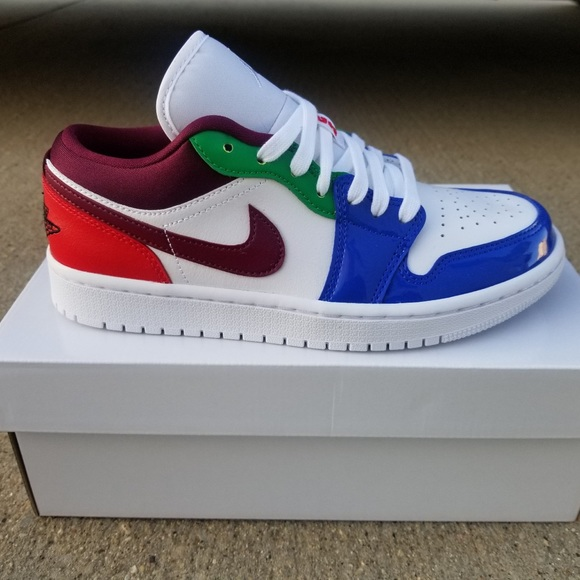 Nike Air Jordan 1 Low SE Beetroot Women's Size 7.5
